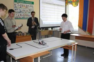 Занятие по робототехнике