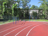 Спорт.площадка с тренажерами