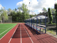 Трибуны стадиона ГБОУ школы №334