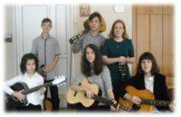 Музыканты с гитарами